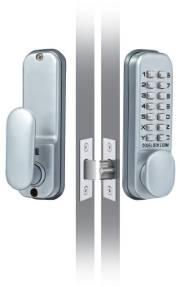 Mit dem digitalen Türschloss benötigt man keinen Schlüssel